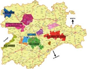 Wine Regions of Castlla y León