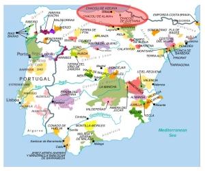 Chacoli map