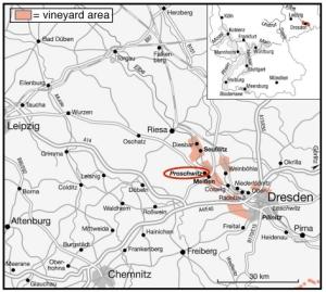 Schloss Proschwitz map copy