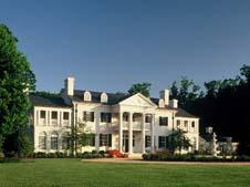 The beautiful Keswick Vineyards in Monticello
