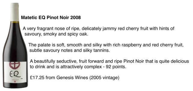 Matetic EQ Pinot Noir