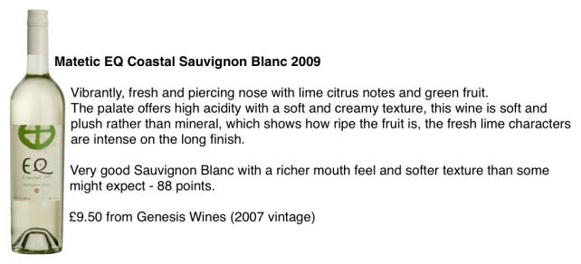 Matetic Sauvignon Blanc