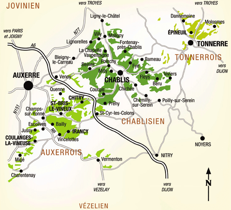 Chablis France Map.Irancy The Rural Side Of Burgundy Quentin Sadler S Wine Page