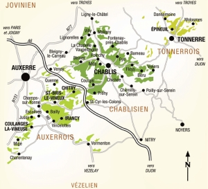 Grands Auxerre map