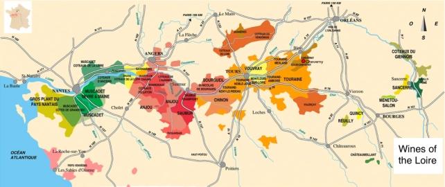 Loire map 2009