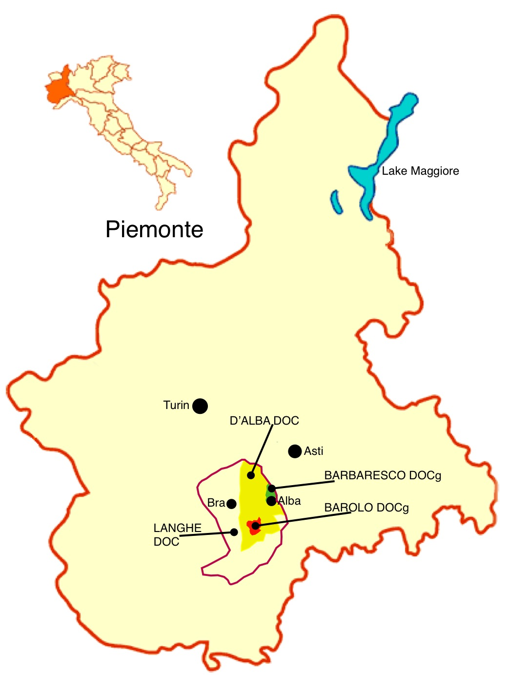 Map of Barolo Wine Region http://quentinsadler.wordpress.com/2009/11/19/getting-to-grips-with-nebbiolo/