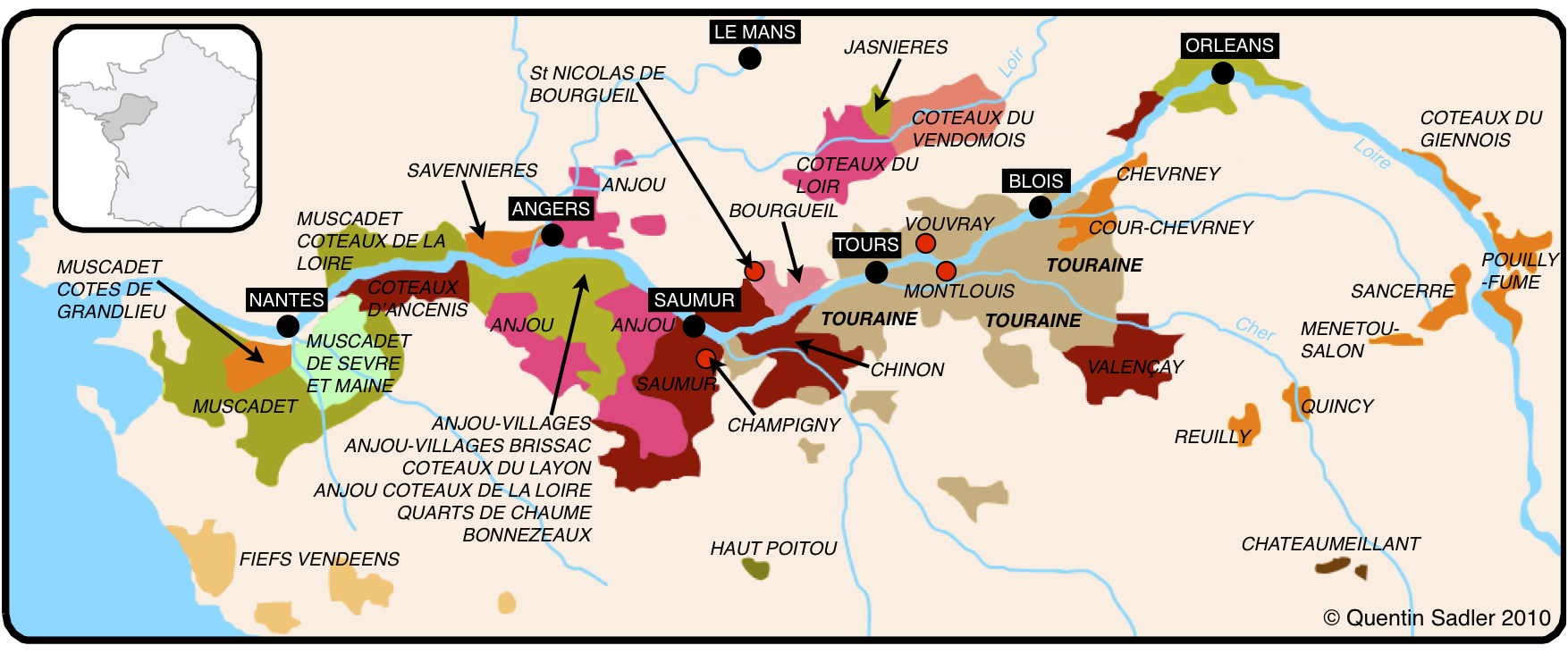 map . french sauvignon blanc – the fight back  quentin sadler's wine page