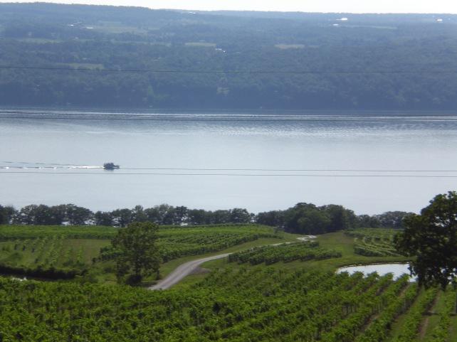 Seneca Lake from Château Lafayette Reneau