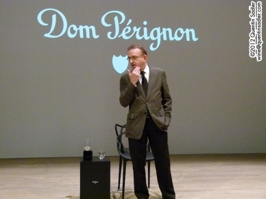 Richard Goffrey at the Dom Pérignon launch