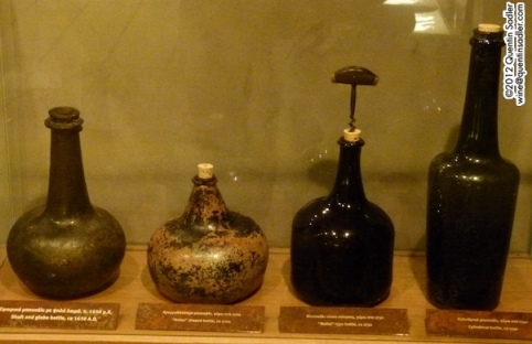 The evolution of the wine bottle was crucial to the development of wine as we know it today. These are at Domaine Gerovassiliou in Greece.