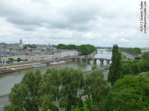 Angers from the Castle ramparts