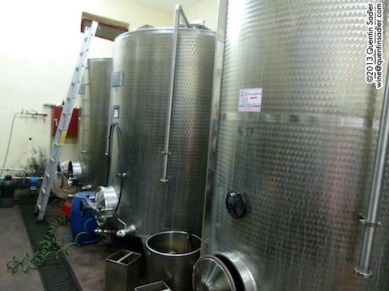 How it's done now - the Dalamára Winery in Naoussa in 2012.