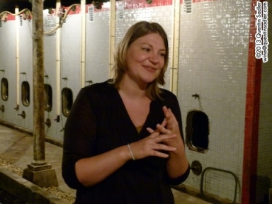 Marion Javiller of Domaine Patrick Javiller. They made 2 of my favourite wines from the trip and rather wonderfully I could afford them too -