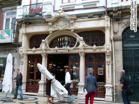 The beautiful Café Majestic.