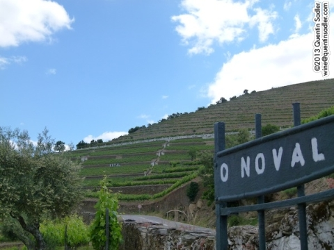 The entrance to Quinta do Noval.