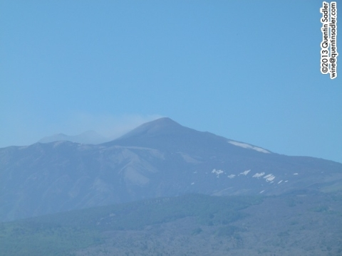 Mount Etna, a wonderful sight and at the heart of an amazing wine region.