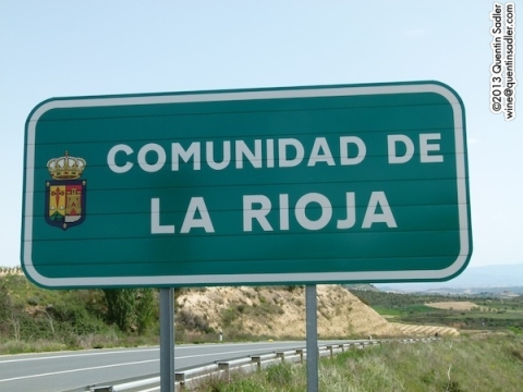 Most of Rioja is in Spain's smallest autonomous region. La Communidad de Rioja.