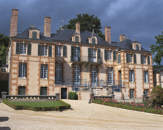 Taittinger's beautiful Château de la Maruetterie near Pierry.