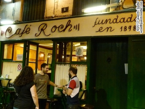 One of Pamplona's many excellent bars.