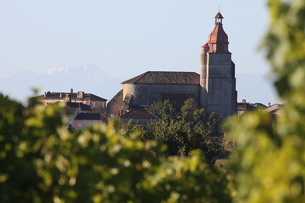 Saint Mont is in the Basque lands of Gascony with ancient links to the Pilgrim's route to Santiago in Spain.