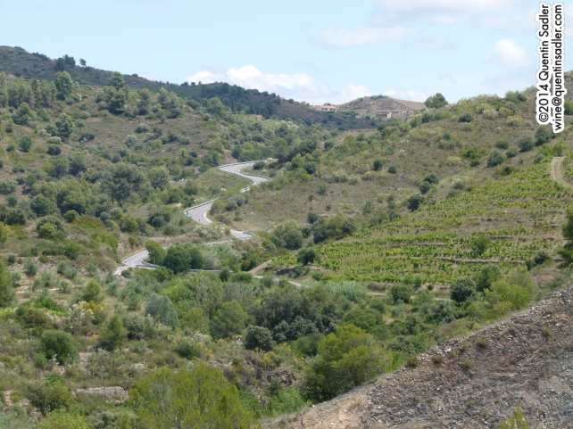 The rugged Catalan landscape.