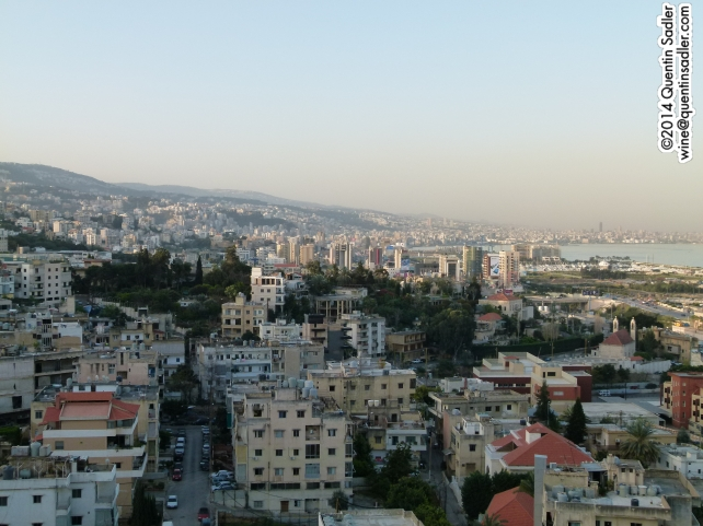 Beirut from my hotel.