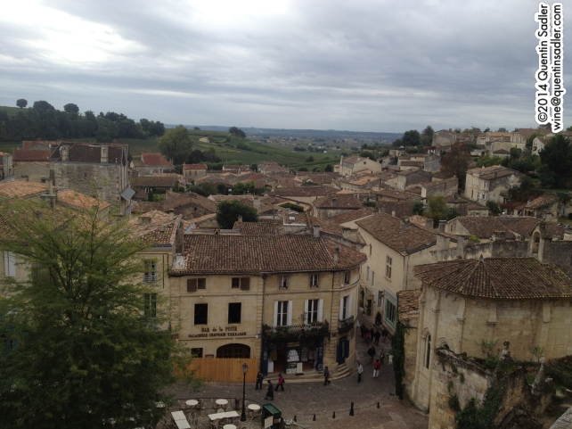 Saint=Émilion really is a beautiful town and well worth visiting.