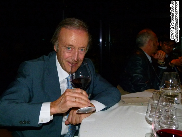 Miguel Torress at dinner in 2012.