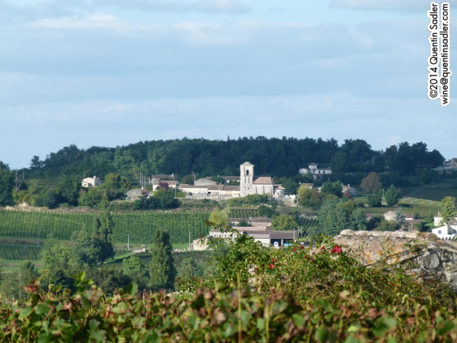 Saint-Émilion vineyards.