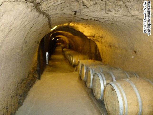 The cellars at Ksara.