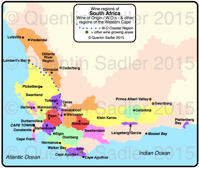 South Africa map QS 2015 watermarked