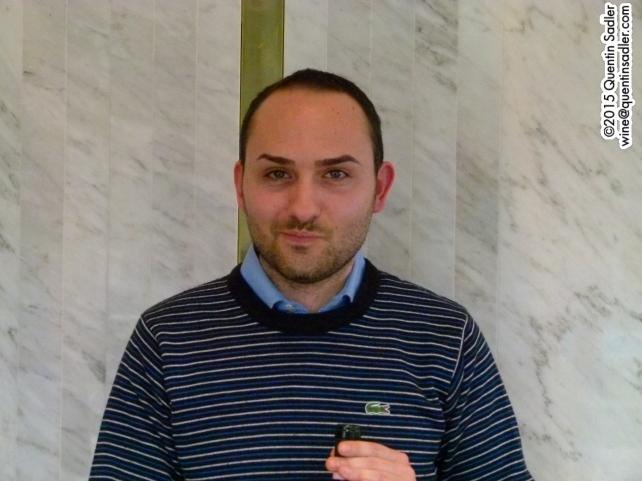 Raffaele Guastaferro of Cantine Guastaferro.
