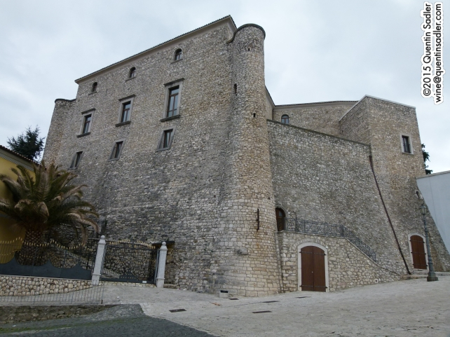 The fortress in Lapio.
