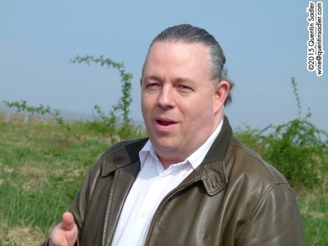 Philip Cox, Commercial Director, Cramele Recaș.