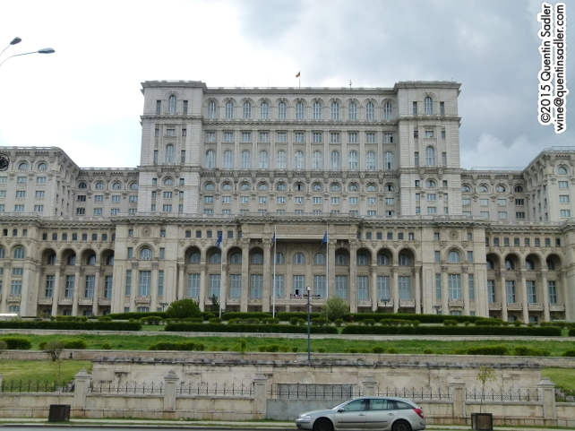 The Palace of Parliament.