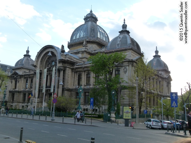 Downtown Bucharest, it wasn't known as the Paris of the east for nothing.