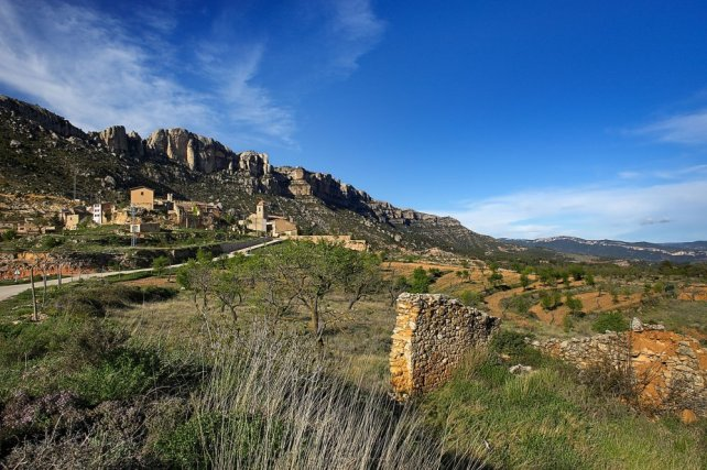 The beautiful landscape of Priorat.
