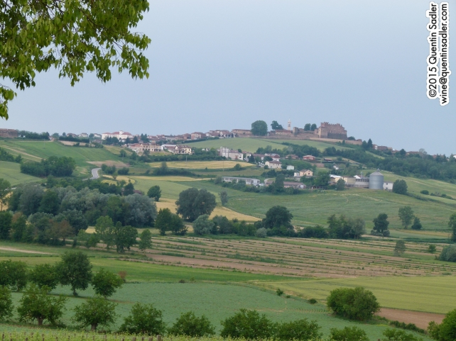 The beautiful Piemontese landscape.