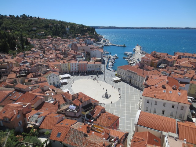 Piran main Square.