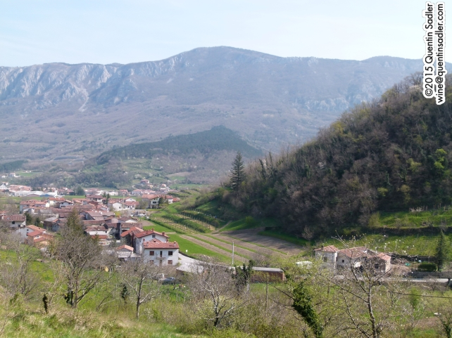 The beautiful Vipava Valley.