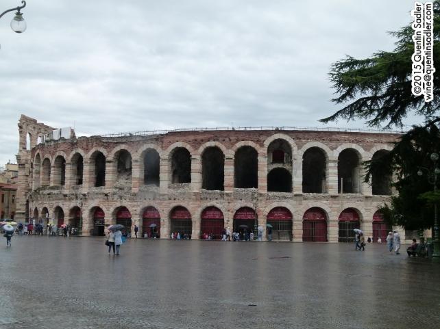 Verona's amazing Roman Arena.