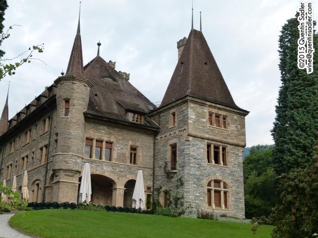 Château Mercier, Sierre.