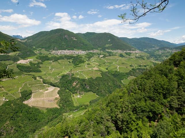 Cembra-e-Faver-dal-sentiero-dei-castellieri-di-Lona-Lases