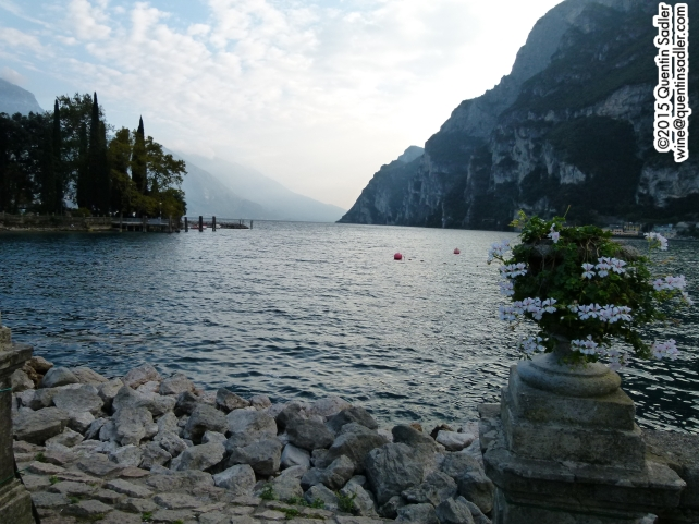 Lake Garda's northern shore.