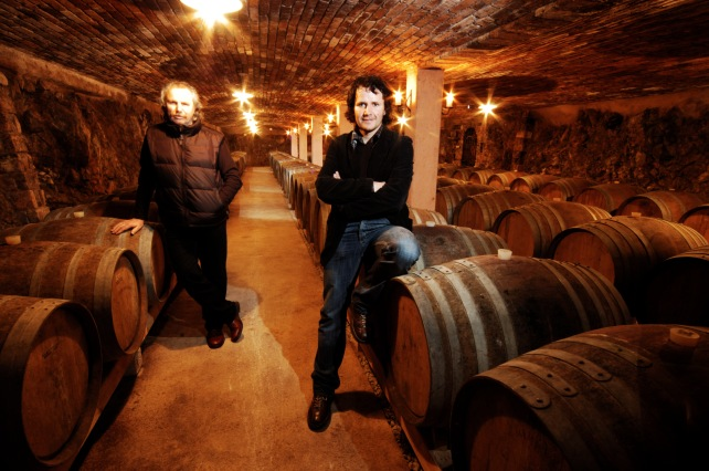 Branko & Vasja Čotar - photo courtesy of the winery.