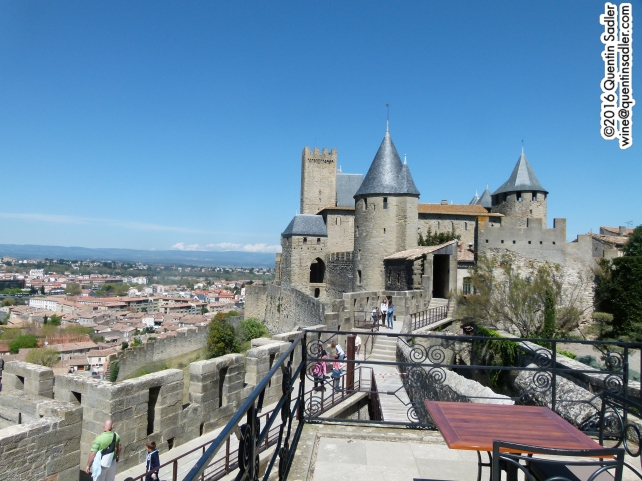 Carcassonne, my home for a week recently.
