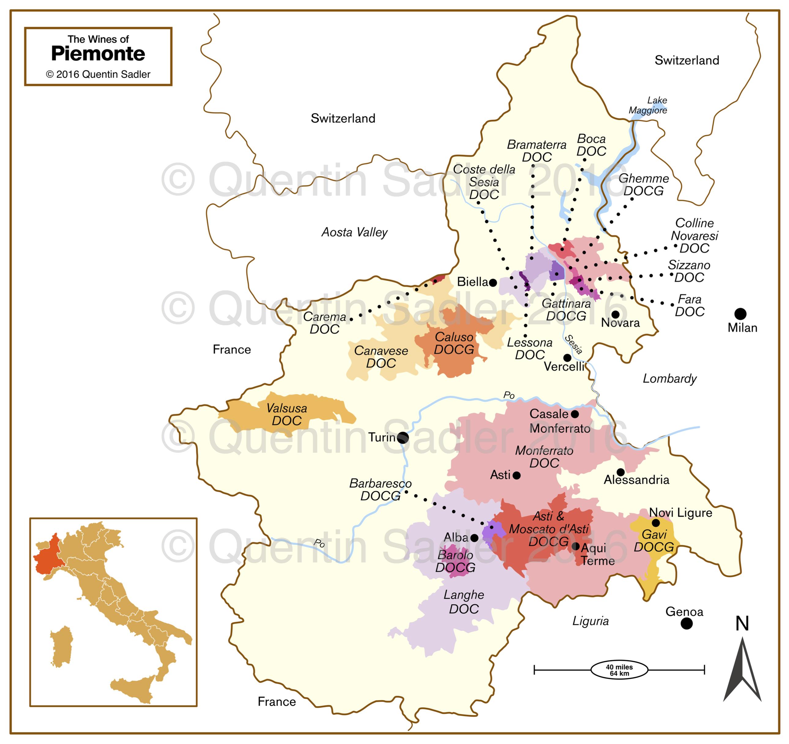 Langhe Region Italy Map.Alto Piemonte Italy S Hidden Treasure From Alpine Piemonte
