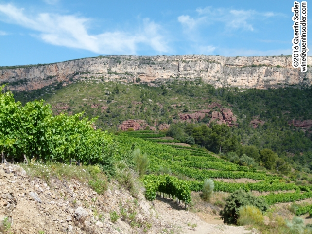 The beautifully rugged Priorat landscape.