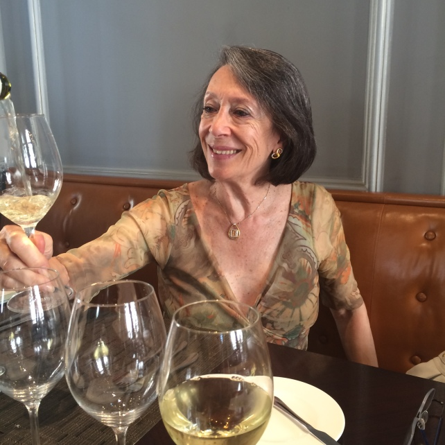 Marimar Torres tasting with me in London. Thanks to Kate Sweet for taking the photograph, as I was enjoying myself so much that I clean forgot!