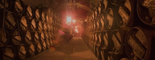 Barrel ageing at López de Heredia - photo courtesy of the winery.